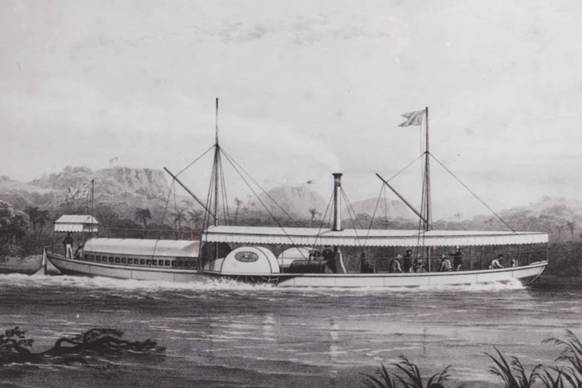 Raikane River Boat History