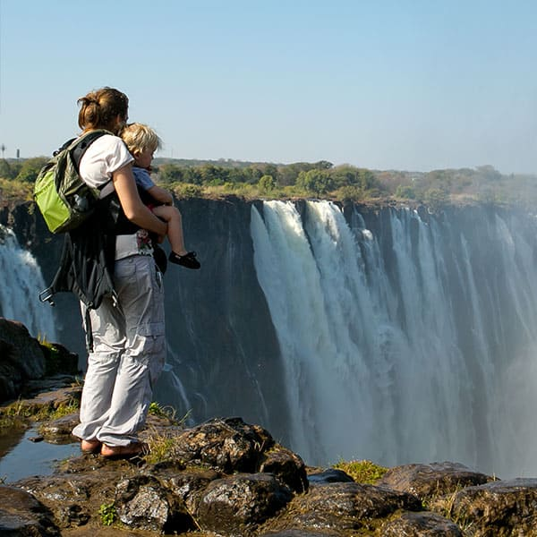 Victoria Falls Viewing Point