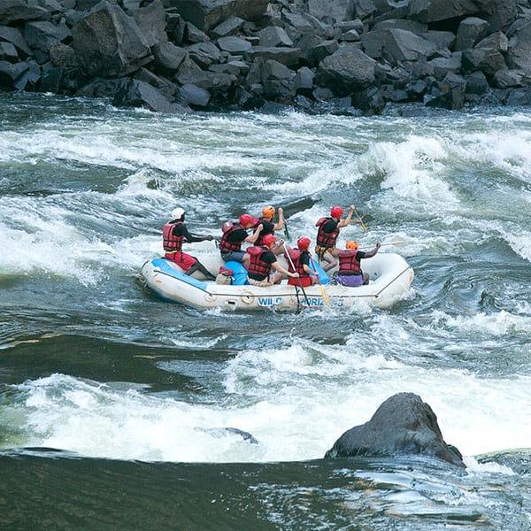 White Water Rafting Victoria Falls Zimbabwe