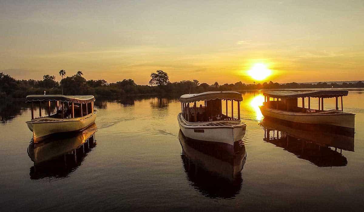 Ra-Ikane Cruises Fleet Zambezi River