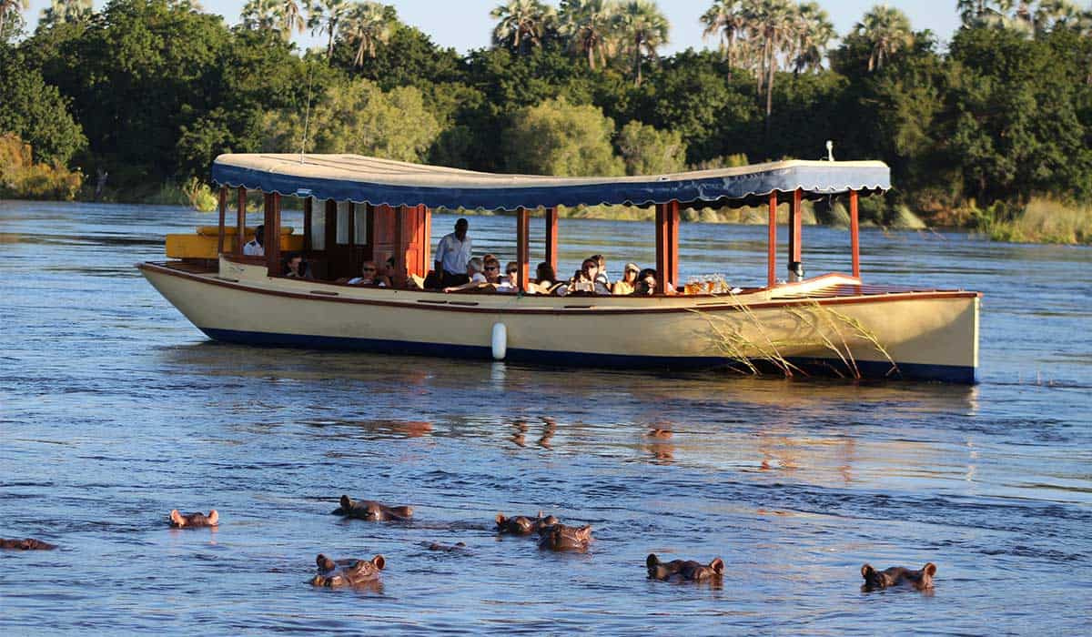 Wildlife Ra-Ikane Cruises Zambezi River