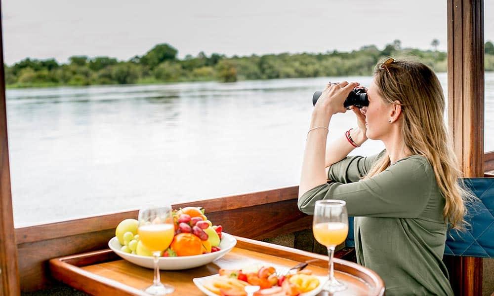 Birdwatching Cruise Ra-Ikane Victoria Falls
