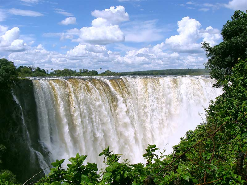 The Mighty Victoria Falls Zambezi River
