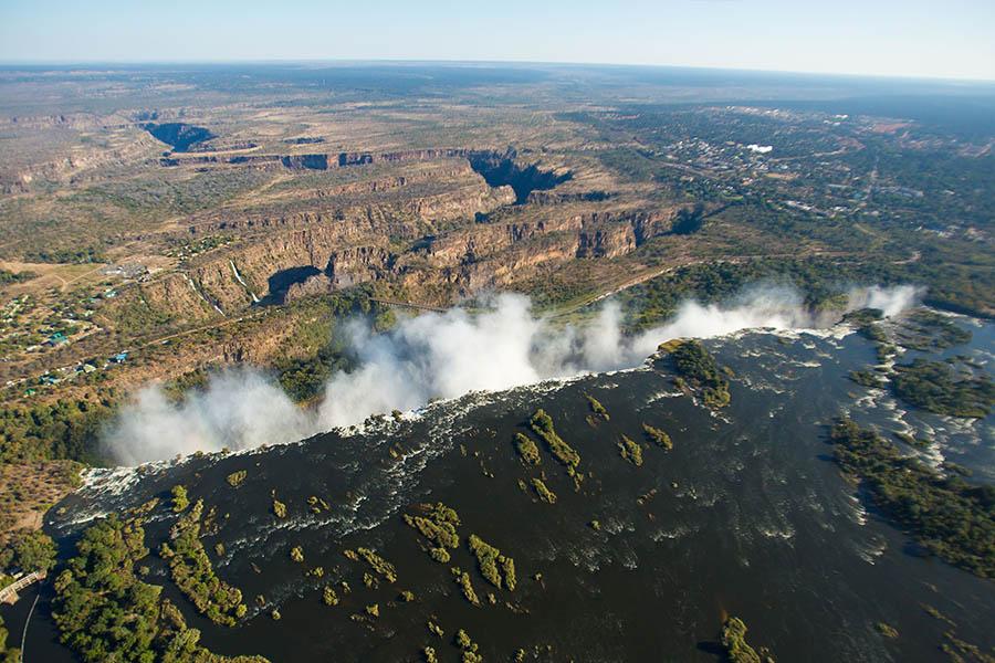 Raikane Helicopter Trip Victoria Falls