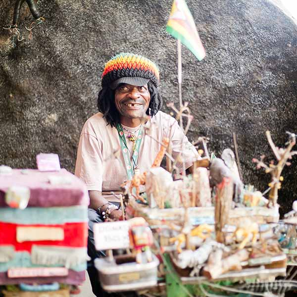 Victoria Falls Vendors