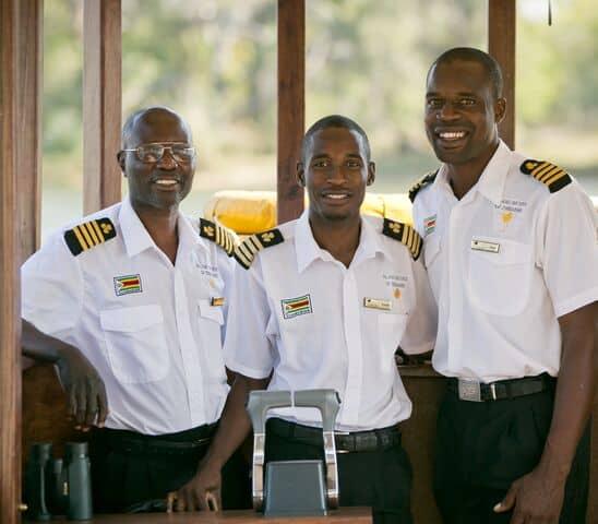 Captains Ra-Ikane Cruise Ra-Ikane Victoria Falls Zambezi River