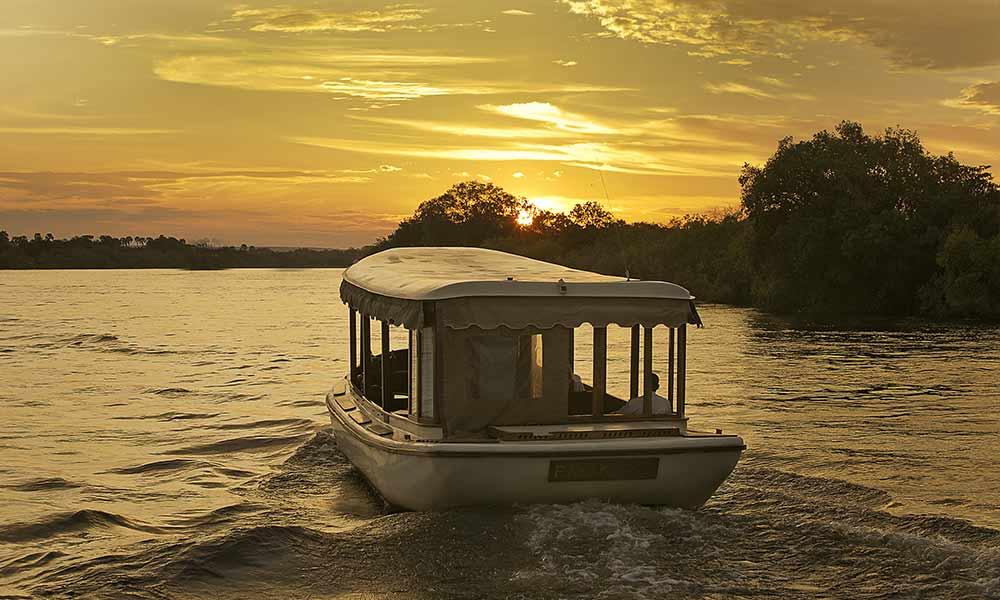 Ra-Ikane Sunset Victoria Falls Zambezi River
