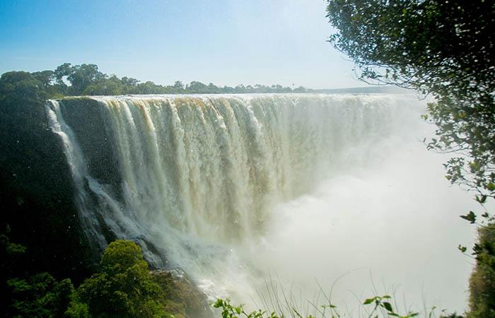Raikane Victoria Falls Rainy Season